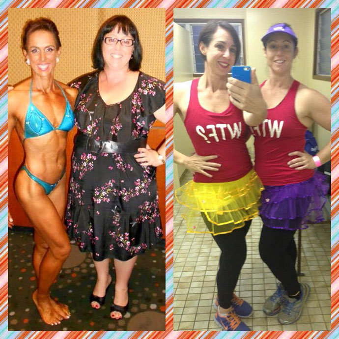 Renee-competing---Rachel-at-biggest-weight,-then-both-of-us-at-Miss-Muddy